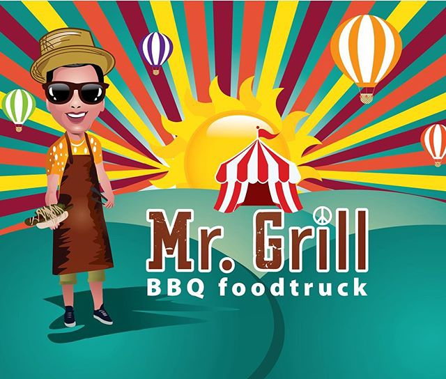 Zomerfeest BBQ mr.Grill Foodtruck
